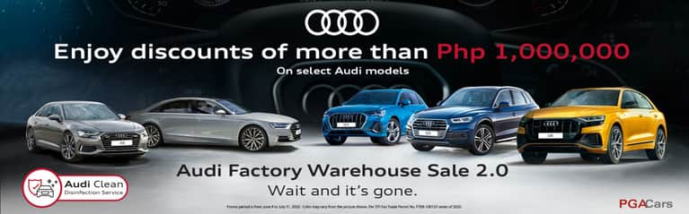Audi Philippines mounts second factory warehouse sale event